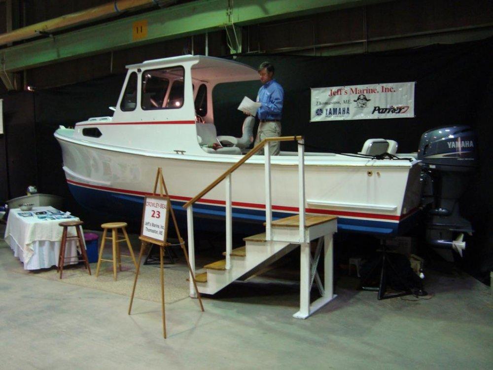23' Crowley Beal boat show 2011.jpg